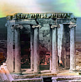 Temple Of Athena by Robert G Kernodle