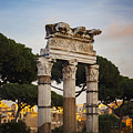 Temple Of Castor And Pollux by Sophie McAulay