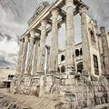 Temple Of Diana Merida Spain II by Joan Carroll