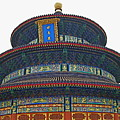 Temple Of Heaven by Leslie Brashear