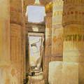 Temple Of Karnak  2 by Roy Pedersen