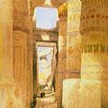 Temple Of Karnak  by Roy Pedersen