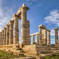 Temple Of Poseidon II by James Billings