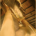 Temple Of Reclining Buddha  by Linda  Parker