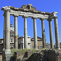Temple Of Saturn by Tony Murtagh