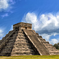 Temple Of The Feathered Serpent by Dominic Piperata