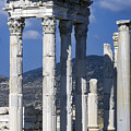 Temple Of Trajan View 1 by Bob Phillips