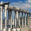 Temple Of Trajan View 3 by Bob Phillips