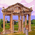Temple Ruins At Ephesus by Dominic Piperata