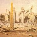 Temple Ruins  by Roy Pedersen