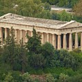 Temple To Zeus by Barbara Ebeling
