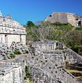 Temples In Ek Balam by Jess Kraft