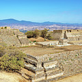 Temples In Monte Alban by Jess Kraft