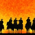 Ten Cowboys by Carrie OBrien Sibley