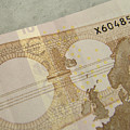Ten Euro Note by Adrian Wale