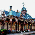 Tenafly Railroad Station by William Rogers