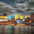 Tenby Harbour Pembrokeshire by Leighton Collins