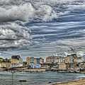 Tenby Harbour Texture Effect by Steve Purnell