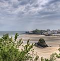 Tenby Pembrokeshire Low Tide by Steve Purnell