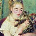 Tenderness Of A Woman by Georgiana Romanovna