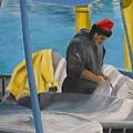 Tending Nets by Joe Lanni