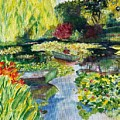 Tending The Pond by Mary K Conaboy