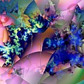 Tending Toward Flowers by Ron Bissett