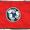 Tennessee Bathroom Flag by Daryl Cagle