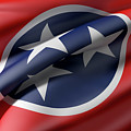 Tennessee State Flag by Enrique Ramos Lopez