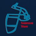 Tennessee Titans Retro by Joe Hamilton