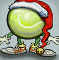 Tennis Christmas by Kevin Middleton