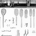 Tennis Court And Rackets by French School