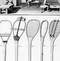 Tennis Rackets by French School