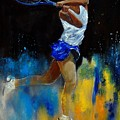 Tenniswoman 57 by Pol Ledent