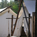 Tent Living Montana by Diane Greco-Lesser