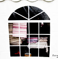 Tent Window by Elaine Berger