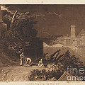 Tenth Plague Of Egypt by Joseph Mallord William Turner And William Say