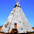 Tepee Trading Post by Ron Kandt