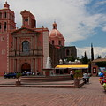 Tequisqueapan Main Catherdral, Mexico by Robert  McKinstry