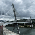 Terenez Bridge I by Helen Northcott
