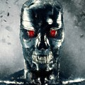 Terminator Oil Pastel Sketch by Movie Poster Prints