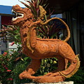 Dragon Statue by Sally Weigand