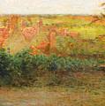 Terrace, Sun, Gerberoy by Henri le Sidaner