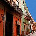 Terracotta And Mint by Mexicolors Art Photography