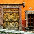 Terracotta Wall 1 by Mexicolors Art Photography