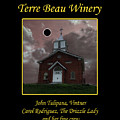 Terre Beau Winery 2017 Eclipse Poster by Julie Rodriguez Jones