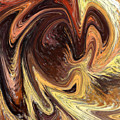 Terrestrial Vortex Abstract by Irina Sztukowski