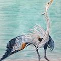 Terri's Heron by Gail Grundberg Judd