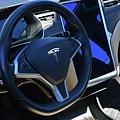 Tesla S85d Cockpit by Mike Martin