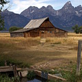 Teton Barn 2 by Marty Koch